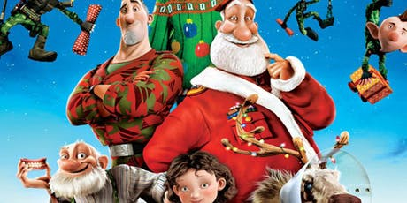 Arthur Christmas, with gift box workshop tickets