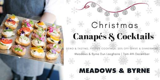 Meadows & Byrne: An  evening of  Canapés & Cocktails