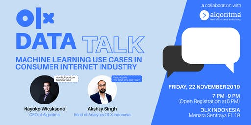 DATA TALK: MACHINE LEARNING USE CASES IN CONSUMER INTERNET INDUSTRY