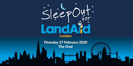SleepOut for LandAid - London, The Oval