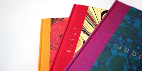 Bespoke bookbinding workshop tickets