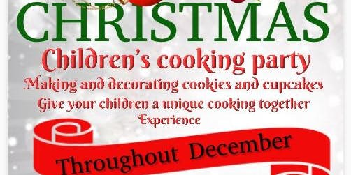 Children's Christmas cookie and cupcake decorating event