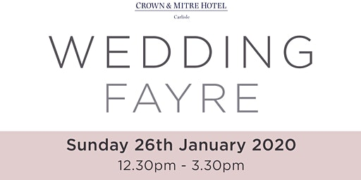 Crown and Mitre Wedding Fayre
