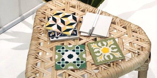 Moroccan Tile Painting Workshop