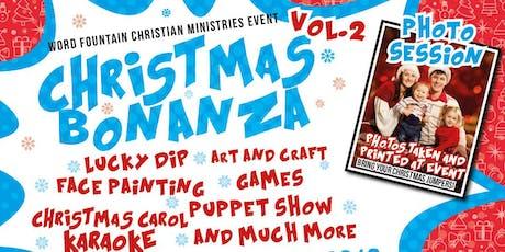 Christmas Bonanza 2019 tickets