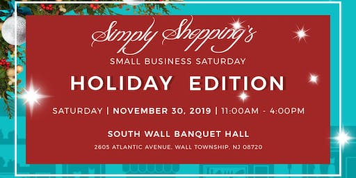 Simply Shopping's Small Business Saturday ~ Holiday Edition