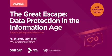 The Great Escape: Data Protection in the Information Age Tickets