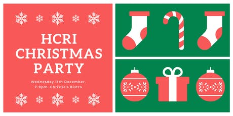 HCRI Christmas Party tickets