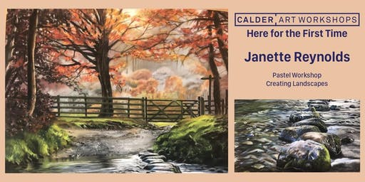 Pastel Workshop- Landscape with Janette Reynolds