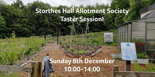 Storthes Hall Allotment Society Taster Session