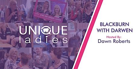 Unique Ladies Blackburn Block booking for 2020 tickets