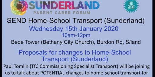 SEND Home School Transport (Sunderland)