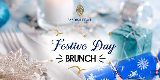 Festive Day Brunch at Saadiyat Beach Golf Club