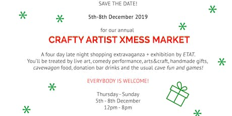 Crafty Artist XMess Market tickets