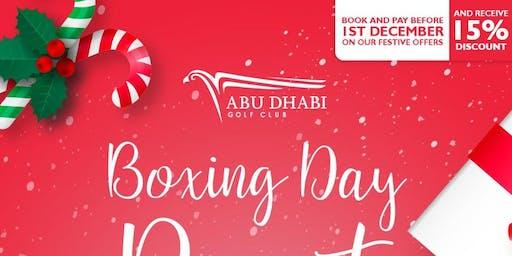 Boxing Day Roast at Abu Dhabi Golf Club