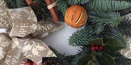 Christmas table decoration workshop with artist Caroline Jackson tickets