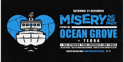 Misery: Emo Boat Party - December w/ Ocean Grove
