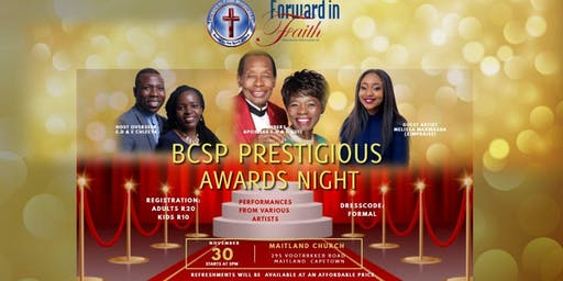 BCSP PRESITIGIOUS AWARDS NIGHT