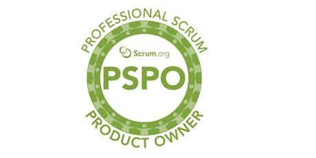 Professional Scrum Product Owner - SP Janeiro ingressos