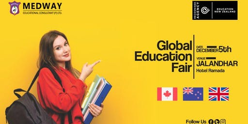 MEDWAY'S  GLOBAL EDUCATION FAIR  - 5 DEC 2019