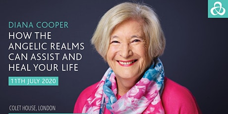 Diana Cooper - How the Angelic Realms can assist and heal your life.  tickets