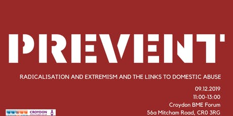 Radicalisation and Extremism: Prevent Awareness tickets