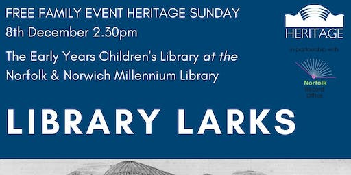 Heritage Sunday: Library Larks