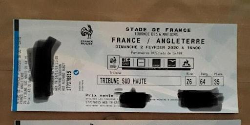 Tournoi 6 nations FRANCE- ANGLETERRE