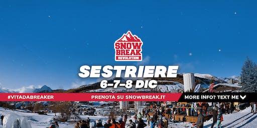 Snowbreak 2019 Sestriere (TO) 6-7-8 Dicembre