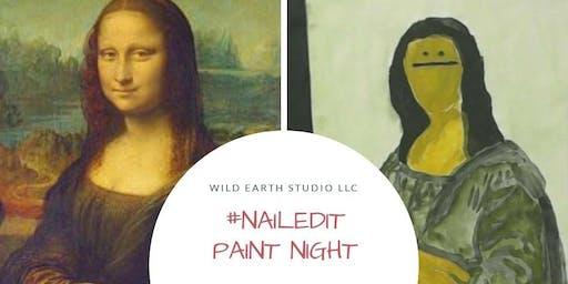 #NAILEDIT PAINT Edition: mona lisa