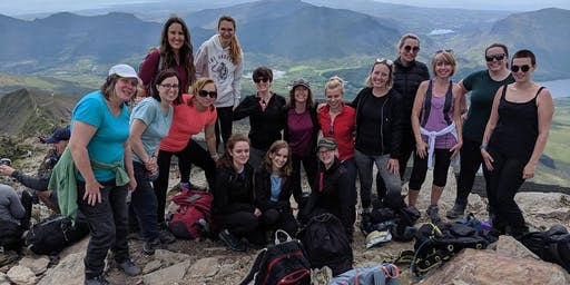 Women's Snowdon Walk