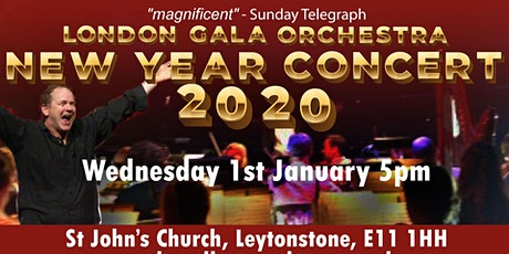 New Year Concert 2020 with the London Gala Orchestra tickets