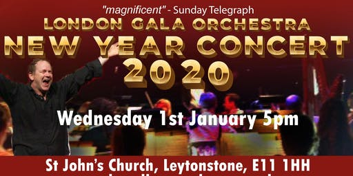 New Year Concert 2020 with the London Gala Orchestra