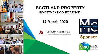 Scotland Property Investment Conference 2020 tickets