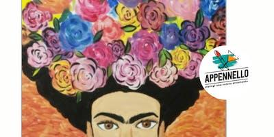 Frida fiorita: aperitivo Appennello ad Ancona