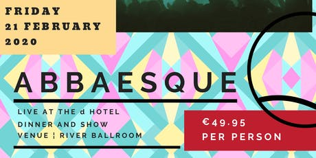 Abbaesque Fri 21 February 2020 tickets