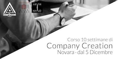 [Novara] Company Creation: trasforma la tua idea in un'azienda di successo