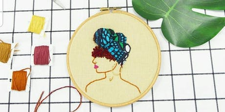 Learn The Art Of 3d Embroidery tickets