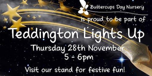 Buttercups at Teddington Lights Up