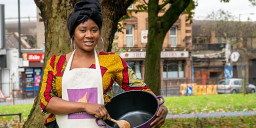 Gambian cookery class with Sereh in Bristol