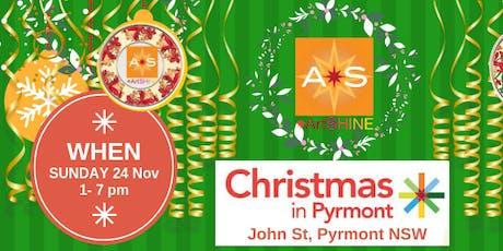 ArtSHINE @ Christmas in Pyrmont tickets