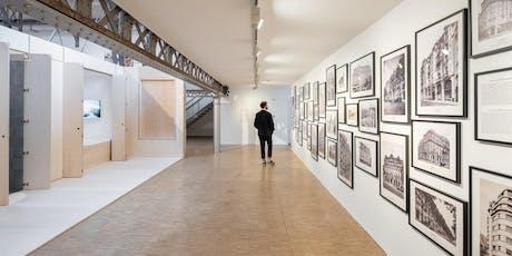 """Visite guidée de l'exposition """"Hôtel Métropole"""" au Pavillon de l'Arsenal billets"""