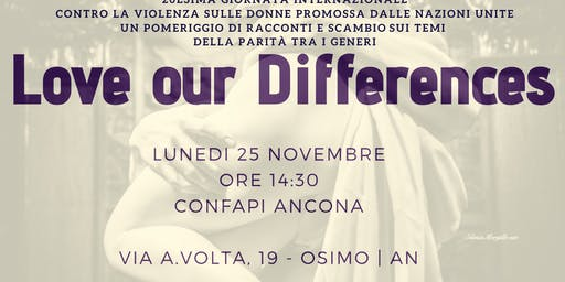 LOVE OUR DIFFERENS: L'EVENTO DEL CORSO CONFAPID - CONFAPI ANCONA