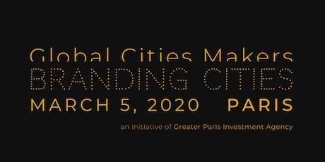 Global Cities Makers Forum 2020 / Branding Cities billets