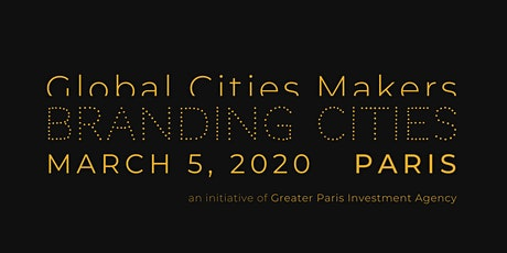 Global Cities Makers Forum 2020 / Branding Cities billets