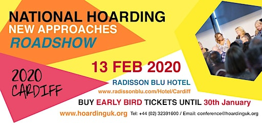 National Hoarding Conference Road Show, Cardiff Feb 2020