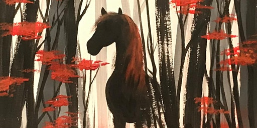 Shadow in the Forest - Painting and Prosecco Evening