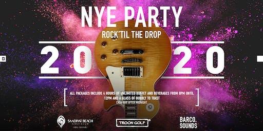 NYE Party - Rock 'Til the Drop at Saadiyat Beach Golf Club