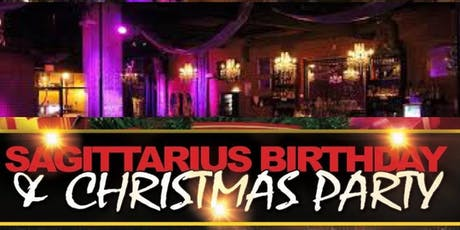 """SAGITTARIUS BASH & CHRISTMAS PARTY """" Party for a Cause""""  tickets"""