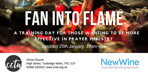 New Wine training day - 'Fan into Flame'